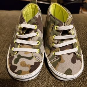 Child of Mine Carter's Camo Shoes 0-3 months
